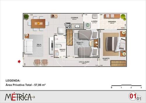 apartamento - ref: 829475