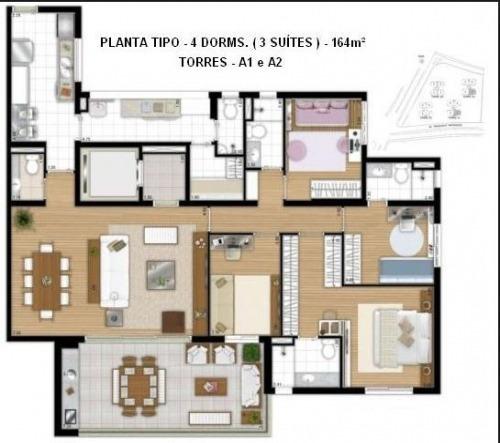 apartamento - ref: b41e8a
