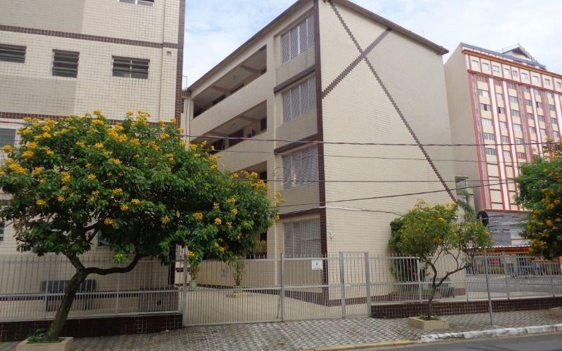 apartamento reformado 1 dormitório p/ venda no boqueirão em praia grande
