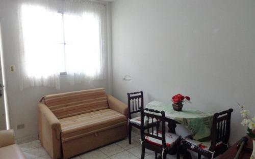 apartamento reformado 1 dormitório p/ venda no centro do boqueirão em praia grande