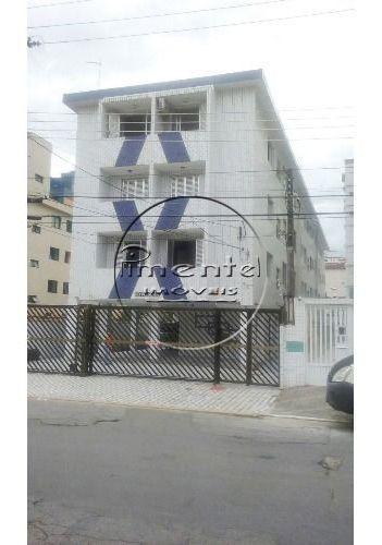 apartamento reformado 1 dormitório p/ venda no forte em praia grande