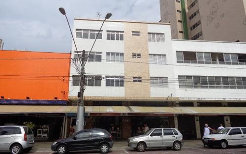 apartamento reformado 2 dormitórios p/ venda e alugar no centro comercial do boqueirão em praia grande