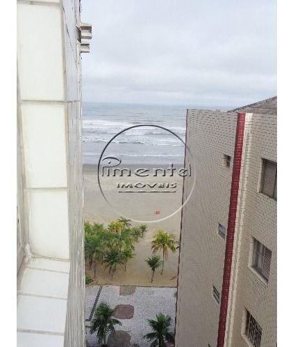 apartamento reformado 2 dormitórios p/ venda na guilhermina prédio à beira