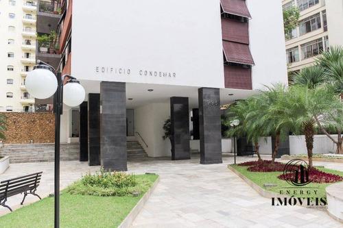 apartamento reformado com projeto diferenciado no coração de higienópolis - ap2682