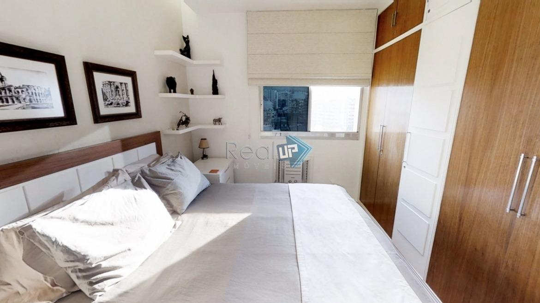 apartamento reformado, coração do leblon, 2 quartos e 1 vaga. - 13841