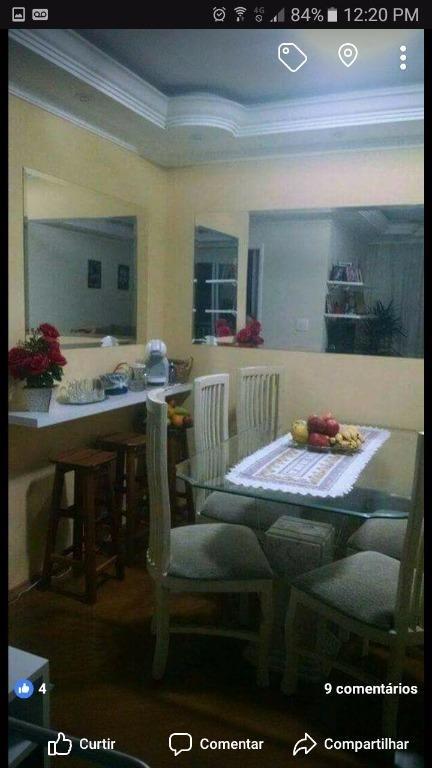 apartamento reformado e mobiliado, assunção, são bernardo do campo. - ap1939