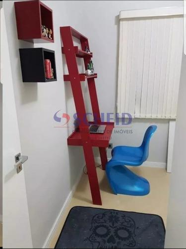 apartamento reformado e totalmente mobiliado - mr68062