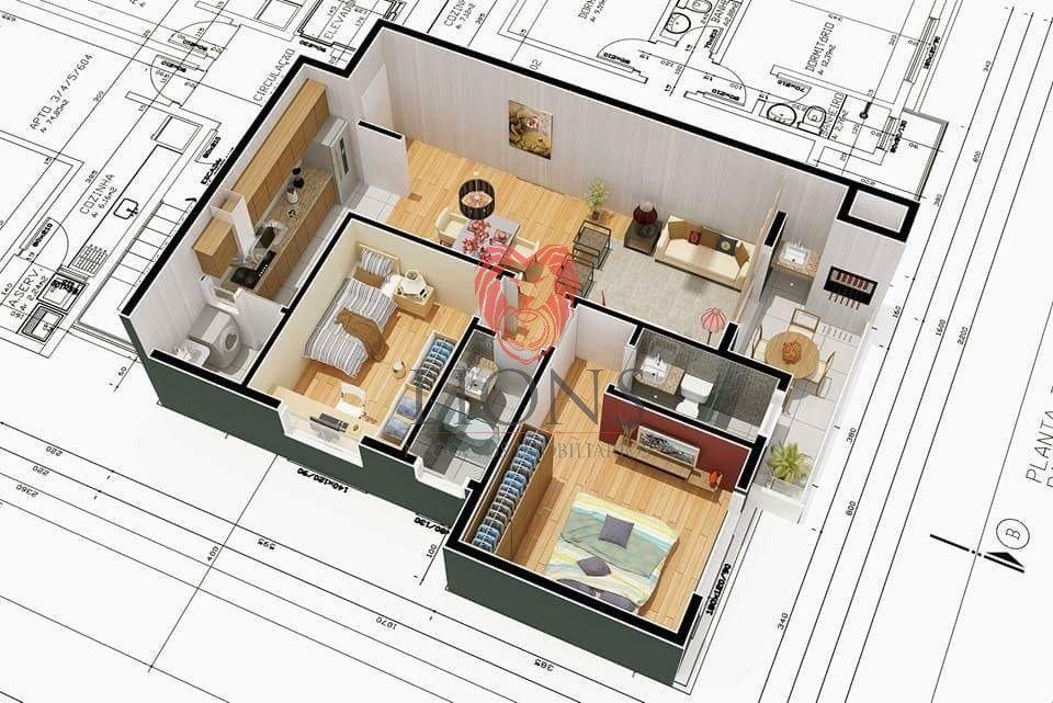 apartamento - renascenca - ref: 2372 - v-2372