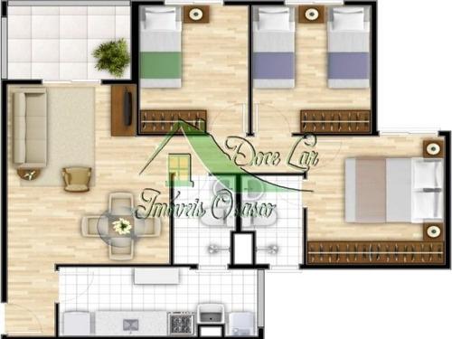 apartamento  reserva natureza cotia