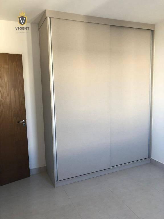 apartamento residencial 02 dormitórios - 64 m² - condomínio campo di fiore - centro - vinhedo/sp - ap1339