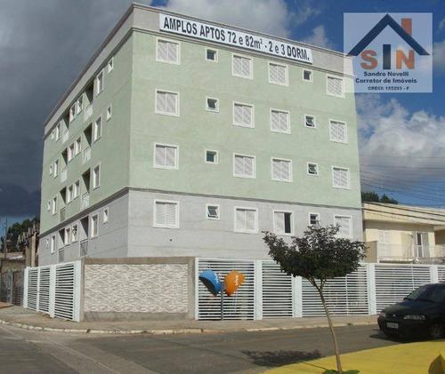 apartamento residencial 2 e 3 dormitórios à venda, vila nova bonsucesso, guarulhos. - ap0064