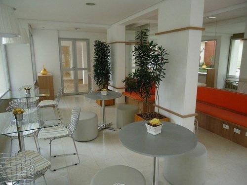 apartamento residencial, 61 m²,  3 dormitórios, 1 vaga,  vila homero thon, santo andré. - ap1309