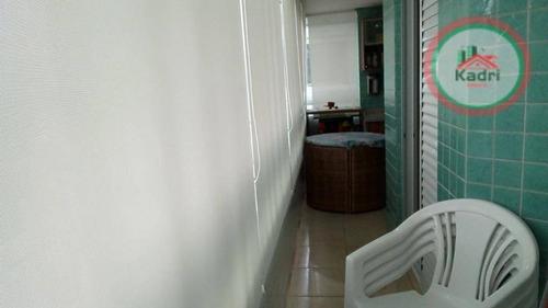 apartamento residencial á venda, canto do forte - ap1510