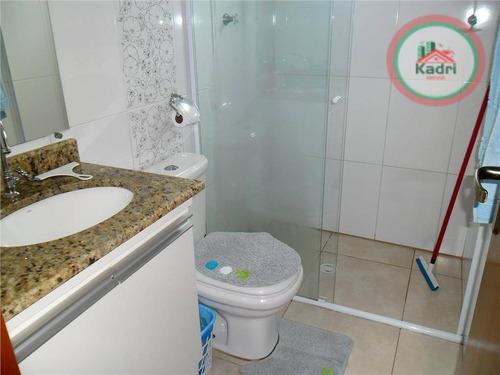 apartamento residencial á venda, canto do forte - ap1520