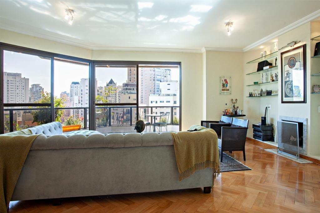 apartamento residencial alto padrão 4 suítes à venda, 247 m², andar alto, próximo ao ibirapuera, moema, são paulo - ap14771 - ap14771