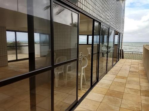 apartamento residencial à beira mar à venda, piedade, jaboatão dos guararapes. - ap2155