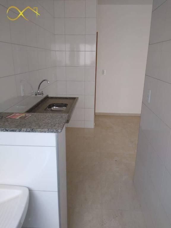 apartamento residencial com 2 dormitórios à venda, 50 m² - recanto da fazenda - nova odessa/sp - ap0732