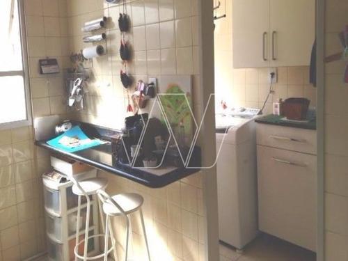 apartamento residencial em campinas - sp, bosque - ap00432