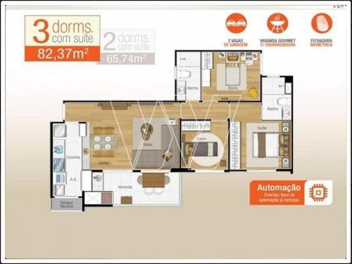 apartamento residencial em campinas - sp, jardim colonial - ap00609