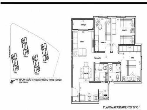 apartamento residencial em campinas - sp, jardim miriam moreira da costa - ap00477