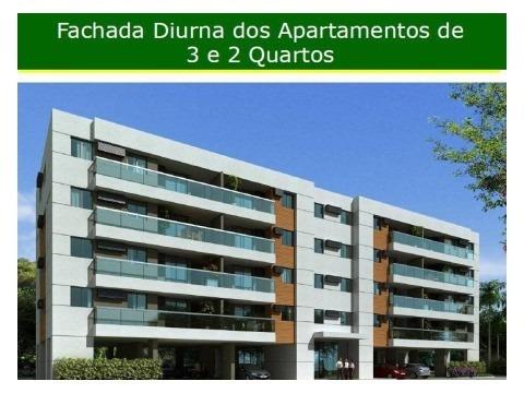 apartamento residencial em rio de janeiro - rj, campo grande - ap01250