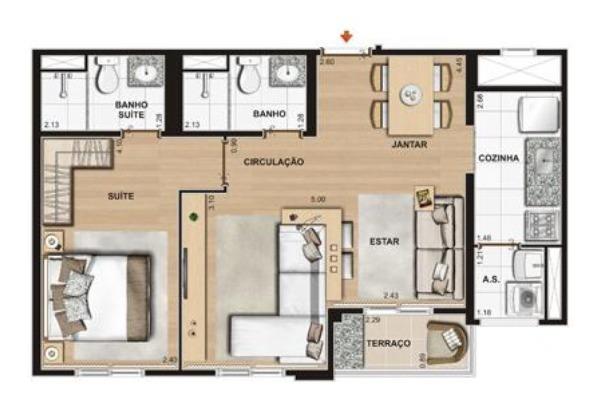 apartamento residencial maraville jundiai