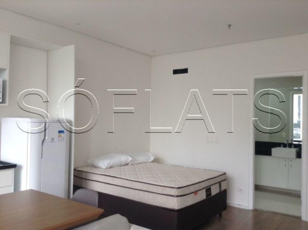 apartamento residencial na vila olímpia - 01 dormitório 35m² - sf26958