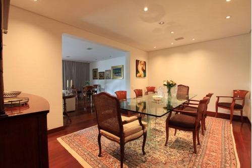 apartamento residencial para locação, alto da boa vista, são paulo - ap3058. - ap3058