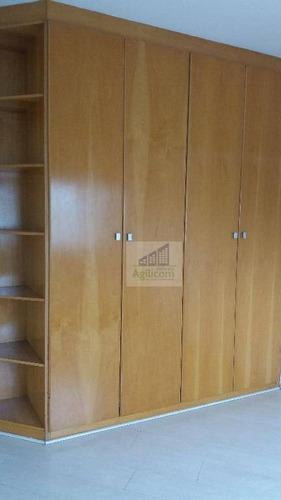 apartamento residencial para locação, brooklin, são paulo. - ap0042