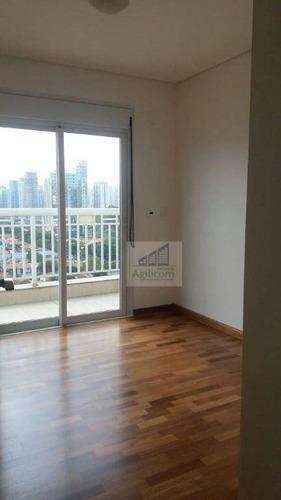 apartamento residencial para locação, brooklin, são paulo. - ap0090