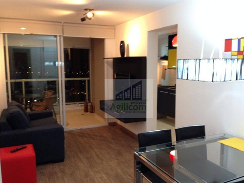 apartamento residencial para locação, brooklin, são paulo. - ap0091