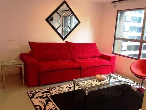apartamento residencial para locação, brooklin, são paulo - ap2024. - ap2024
