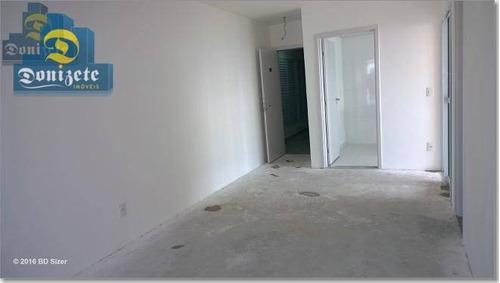 apartamento residencial para locação, campestre, santo andré. - ap1169