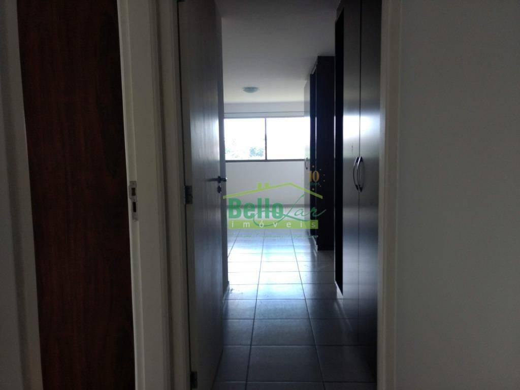 apartamento residencial para locação, casa forte, recife. - ap1076