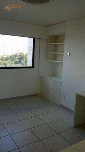 apartamento residencial para locação, casa forte, recife. - ap2466