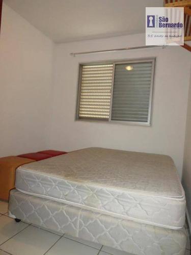 apartamento residencial para locação, centro, americana. - ap0301