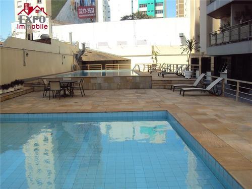 apartamento residencial para locação, centro, campinas. - ap0025