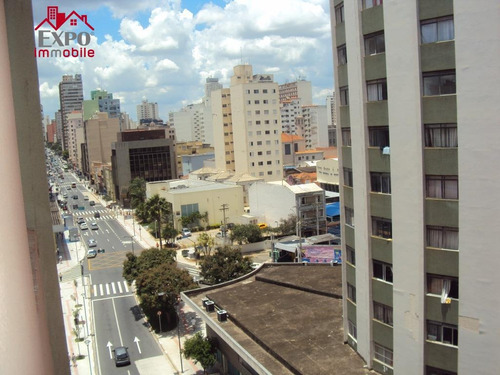 apartamento residencial para locação, centro, campinas. - ap0113