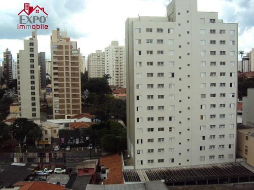 apartamento residencial para locação, centro, campinas. - ap0162