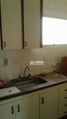 apartamento residencial para locação, centro, campinas - ap0334. - ap0334