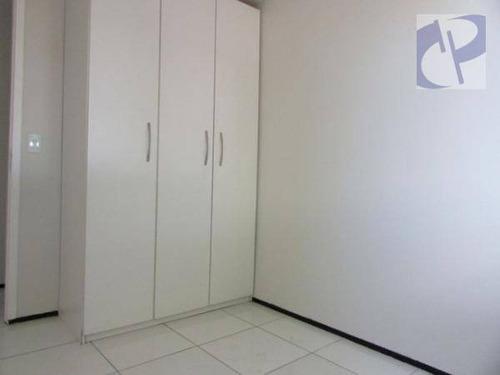 apartamento residencial para locação, centro, fortaleza. - ap1333
