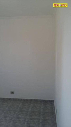 apartamento residencial para locação, centro, guarulhos. - ap0486