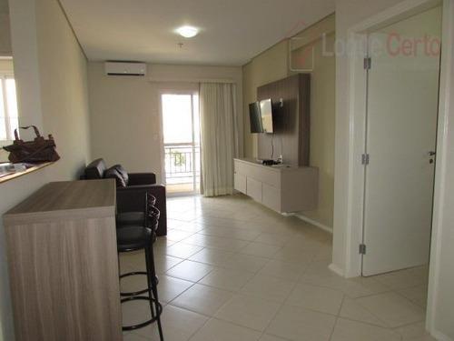 apartamento residencial para locação, centro, indaiatuba. - ap0076