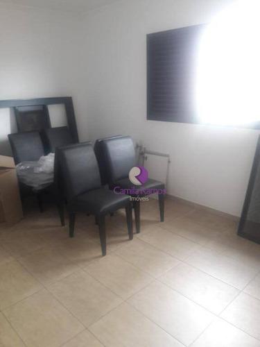 apartamento residencial para locação, centro, suzano. - ap0559