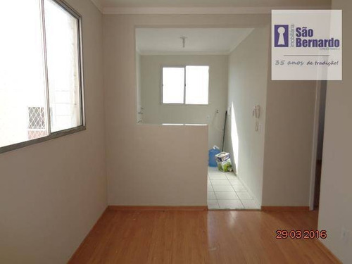 apartamento residencial para locação, chácara machadinho i, americana. - ap0474