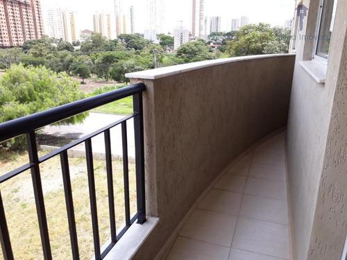 apartamento residencial para locação, edifício parque campolim, sorocaba. - ap0602