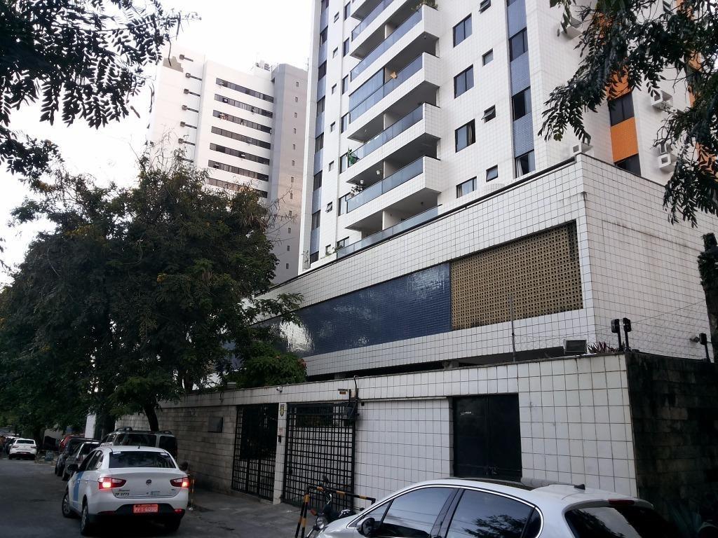 apartamento residencial para locação, espinheiro, recife. - ap3780