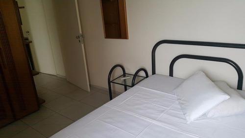 apartamento residencial para locação, gonzaga, santos - ap0508. - ap0508