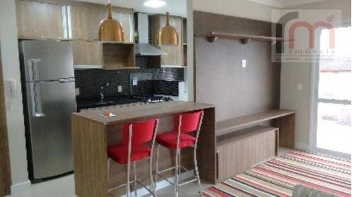 apartamento  residencial para locação, gonzaga, santos. - codigo: ap1925 - ap1925