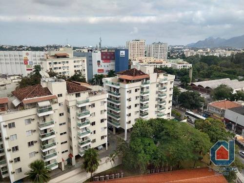 apartamento residencial para locação, jacarepaguá, rio de janeiro. - ap0265